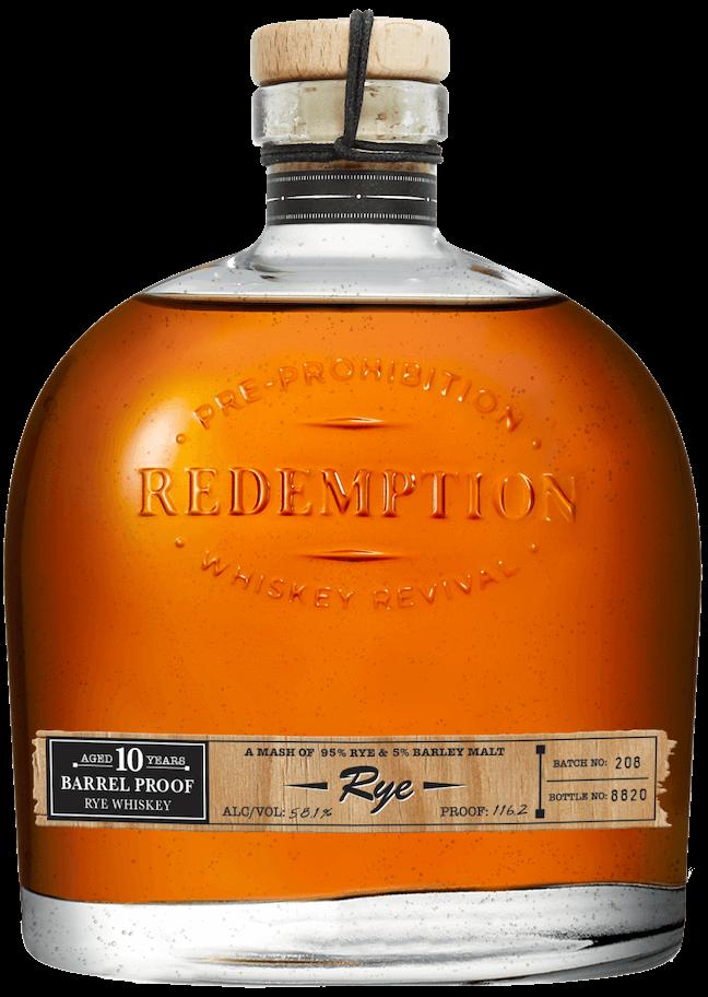 10 year rye whiskey