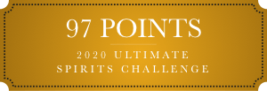 97 points 2020 ultimate spirits challenge