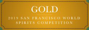 gold 2019 san francisco world spirits competition