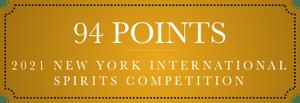 94 points 2021 new york international spirits competition