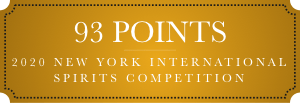 93 points 2020 new york international spirits competition