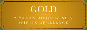 gold 2020 san diego wine and spirits challenge