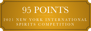 95 points 2021 new york international spirits competition