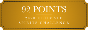 92 points 2020 ultimate spirits challenge