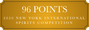 96 points 2020 new york intl spirits competition