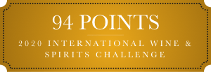 94 points 2020 international wine and spirits challenge