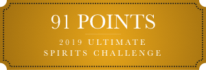 91 points 2019 ultimate spirits challenge